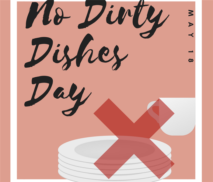 Cleaning No Dirty Dishes Day -- May 18th